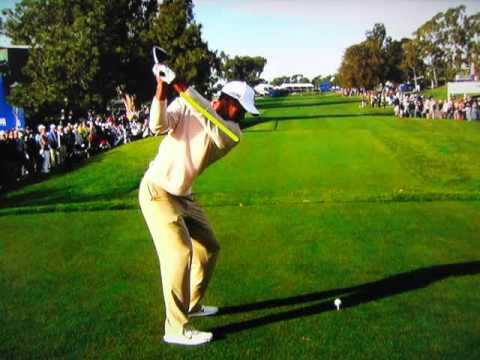Tiger Woods – Ultra Slow Motion (Driver) Torrey Pines (1-25-2013)