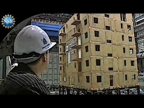 Dřevěná budova vydrží i zemětřesení