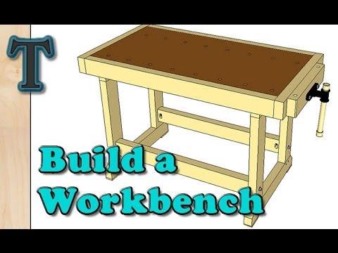 Build a Cheap Woodworking Workbench