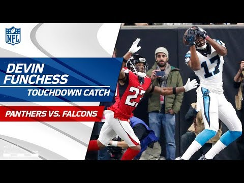 Video: Cam Newton's TD Pass to Devin Funchess Caps Off Big Drive! | Panthers vs. Falcons | NFL Wk 17