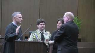 Judge Jeff Ferguson - Enrobing Ceremony