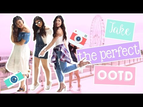 How To Pose for Instagram OOTDs | Janina Vela