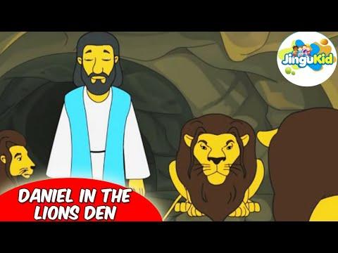 Best Bible stories for kids   Daniel In The Lions Den    Animation   Preschool   Kids   Kindergarten