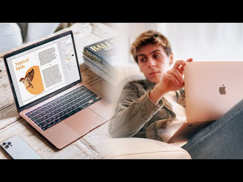 MacBook Air M1 review - A Student's Perspective [2020]