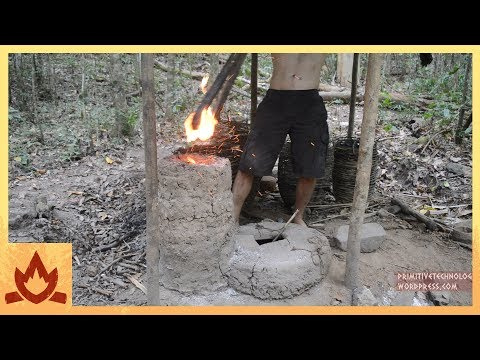 Primitive Technology Simplified blower and furnace
