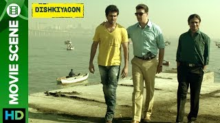 Click here to watch the full movie - http://bit.ly/DishkiyaoonFullMovieHarman Baweja is a drugs seller and Inspector Khan (Aditya Pancholi) wants his shares from him to allowed to sale drugs in pub and night bar.Check out scene from the movie 'Dishkiyaoon' a film directed by Sanamjit Singh Talwar featuring Harman Baweja, Sunny Deol & Ayesha Khanna. The film is produced by Sunil Lulla & Shilpa Shetty Kundra. Music is composed by Sneha Khanwalkar, Palash Muchhal, Prashant Narayanan and White Noise Production.For Mobile Downloads Click: http://m.erosnow.comTo watch more log on to http://www.erosnow.comFor all the updates on our movies and more:https://twitter.com/#!/ErosNowhttps://www.facebook.com/ErosNowhttps://www.facebook.com/erosmusicindiahttps://plus.google.com/+erosentertainmenthttp://www.dailymotion.com/ErosNowhttps://vine.co/ErosNow http://blog.erosnow.com