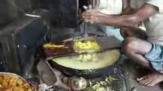 Making Finest Bikaneri Bhujiya at a Village