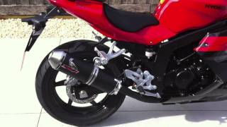 8. Hyosung GT250R 2011 Screaming Demon SD-R Exhaust