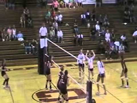 Volleyball vs. Roanoke 9/22/10 Highlights