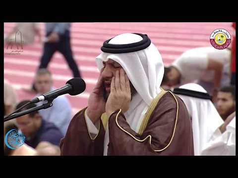 صلاة العشاء والتراويح بجامع الامام محمد بن عبد الوهاب يوم الخميس 6 رمضان 1438 هجريا