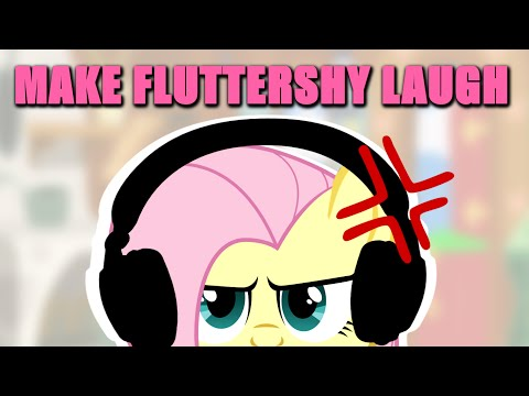 Fluttershy Has A Challenge 🍉 | Make Her Laugh!