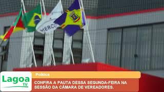CONFIRA A PAUTA DESSA SEGUNDA FEIRA NA SESSÃO DA CÂMARA DE VEREADORES.