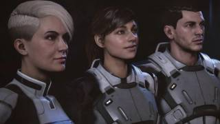 Mass Effect: Andromeda. Prologue (party comments)