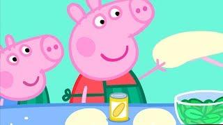 Peppa Pig Português Brasil 🍎 Alimentação Saudável🥕 Hábitos Saudáveis | HD | Peppa Pig