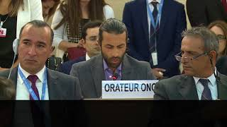 Shocked U.N. Delegates as PLO Abuses Exposed by Palestinian Hero