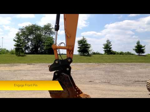Video for D-Lock Variable Center Hydraulic Coupler