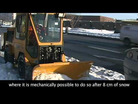 Snow Management Video