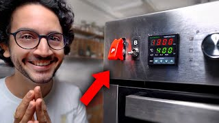 This Red Switch Turns The Pizza Mode ON... (part 2) by Alex French Guy Cooking