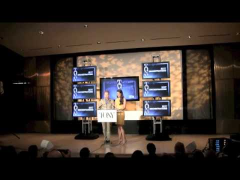 nominations - See Sutton Foster and Jesse Tyler Ferguson announce the 2013 Tony Awards nominees from The New York Library for Performing Arts. Starpulse's entertainment re...