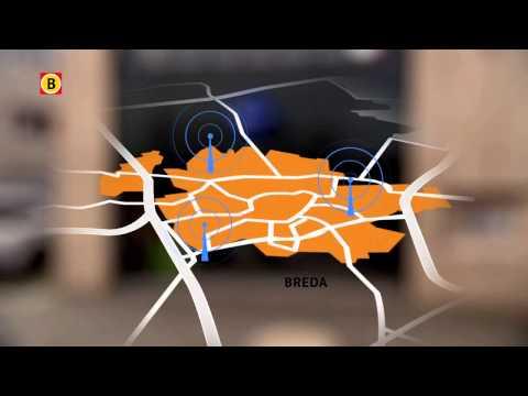 Met spoed mobiele zendmast veiligheid uitgaanszone en politie Breda