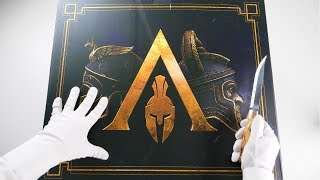 Unboxing Assassin's Creed Odyssey Collector's Edition (Pantheon Edition)
