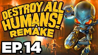• PRESIDENTIAL MOTORCADE & SANTA MODESTA! - Destroy All Humans! Remake Ep.14 (Gameplay / Let's Play)