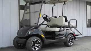 2. 2013 Yamaha DRIVE PTV Fuel-Injected Gas Golf Cart Black Onyx