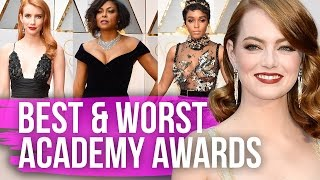Best & Worst Dressed Oscars 2017 by Clevver Style