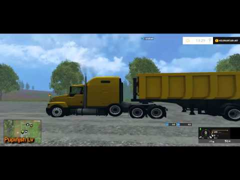 GAZ titanium with trailer v1.1