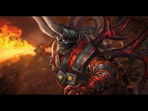 Азазашная DoTa №9 Изи-адекват гейм (Doom)
