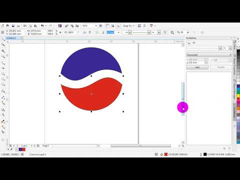 How To Create A Simple Pepsi Logo, With CorelDRAW