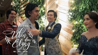 Video The Wedding Ulin & Elang (Resepsi) MP3, 3GP, MP4, WEBM, AVI, FLV Desember 2018