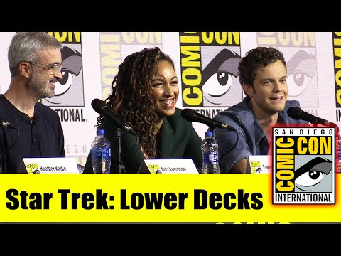 STAR TREK: LOWER DECKS   Comic Con 2019 Full Panel (Mike McMahan, Tawny Newsome, Jack Quaid)
