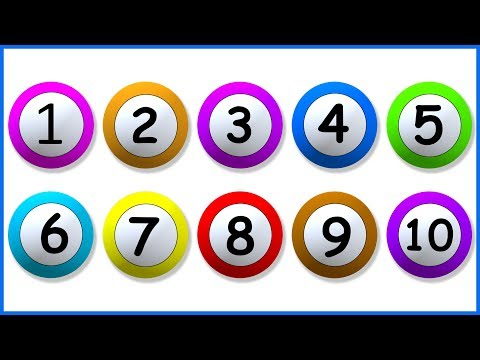 Learn Numbers From 1 To 10 | 123 Number Names | 1234 Numbers Song | 12345 Counting for Kids