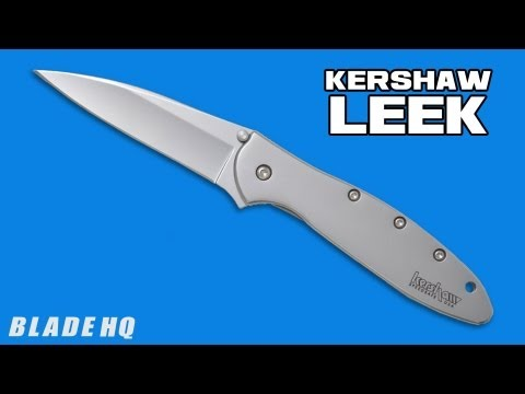 "Kershaw Leek Assisted Opening Knife (3"" Composite) 1660CB"