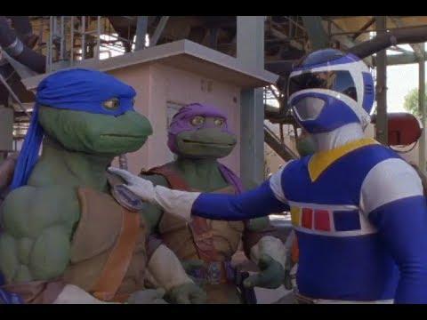 Power Rangers Meet The Teenage Mutant Ninja Turtles   Crossover