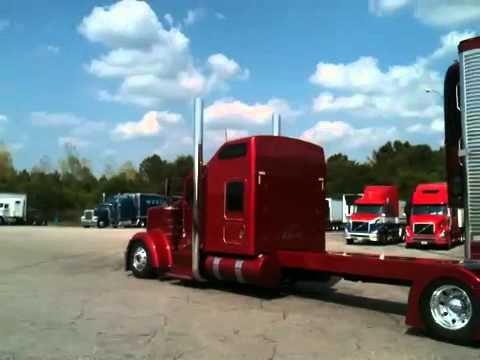 Грузовики Project 351 Kenworth w900 leaving Blue Beacon truck wash