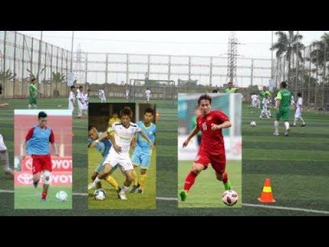 Đào tạo trẻ tại quê Tuấn Anh, Minh Vương, Văn Hậu - Thời lượng: 68 giây.