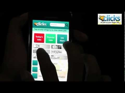 Video of Clicks - Jobs for Pakistanis
