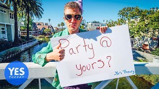 Video ASKING STRANGERS TO THROW A PARTY AT THEIR HOUSE (then invite strangers to the party) MP3, 3GP, MP4, WEBM, AVI, FLV Mei 2018