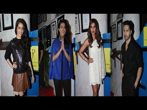 Priyanka Chopra, Varun Dhawan, Sharddha Kapoor, & Others At Dabbu Ratnani's Calendar Launch
