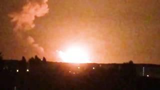 Video Под Винницей горят военные склады. Взрыв складов в Калиновке. 26.09.2017 MP3, 3GP, MP4, WEBM, AVI, FLV Oktober 2017