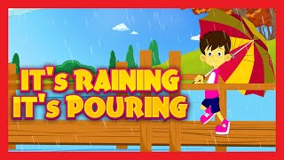 It's raining, It's pouring, the old man is snoring, It's Raining It's Pouring Nursery Rhyme with Lyrics by Kids Hut. ★ Nursery Rhymes PLAYLIST► http://goo.gl...