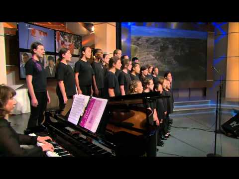 Hamilton Children's Choir - 'O Canada'
