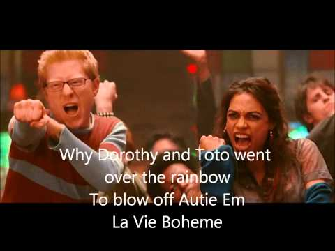 La Vie Boheme (2005) (Song) by Anthony Rapp, Adam Pascal, Corey Rosen, Idina Menzel, Jesse L. Martin, Rosario Dawson, Taye Diggs, Tracie Thoms,  and Wilson Jermaine Heredia