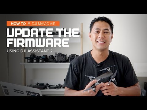 How to update the DJI Mavic Air firmware with DJI Assistant 2