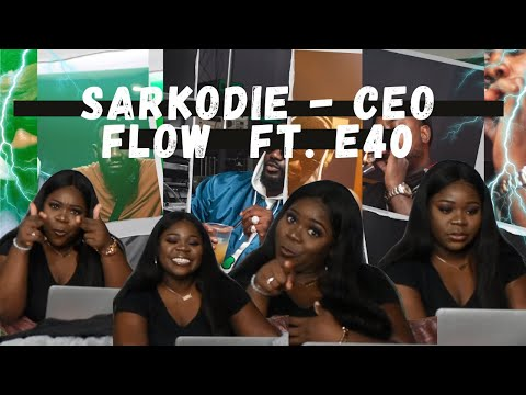 Awkward Nigerian girl's reaction to Sarkodie - CEO Flow feat. E-40 (Official Video) and lyrics !