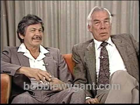 "Charles Bronson & Lee Marvin ""Death Hunt"" 1981 - Bobbie Wygant Archive"