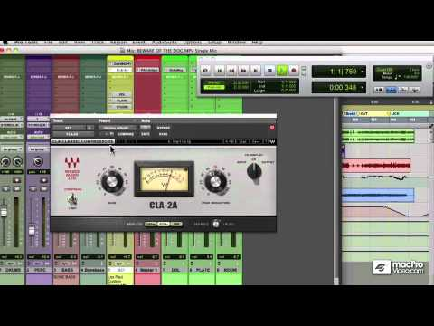 Rich Tozzoli: Producing and Mixing Guitars – 5 Single Mic On An Amp – EQ and Compression