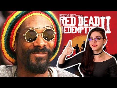Снуп Догг накурил Твич, дата выхода Red Dead Redemption 2  [Неновости Gaming]
